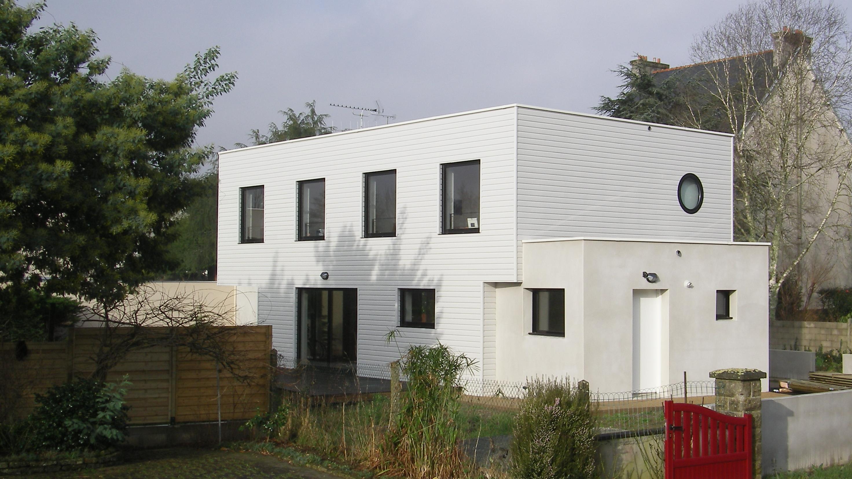 maison l atelier du pich ry architectes quimper. Black Bedroom Furniture Sets. Home Design Ideas